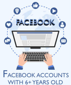 buy facebook accounts with activities - 6+ Years old
