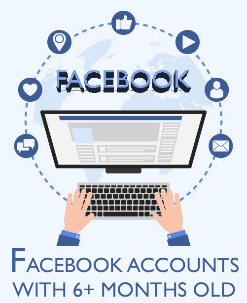 Buy Facebook Accounts with Activities - 6+ Months Old