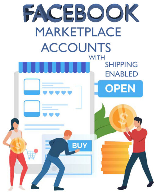 Buy Shipping Enabled Facebook Marketplace