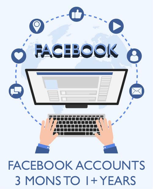 Buy FB Aged Accounts - Without Activities
